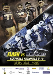 Affiche U19 Flash vs Blue Stars